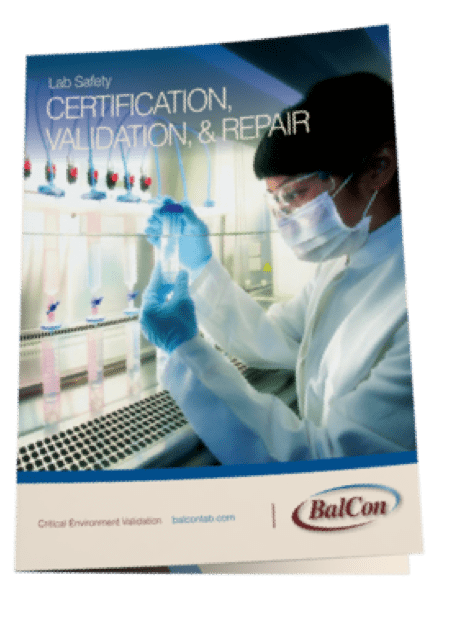 Lab safety brochure