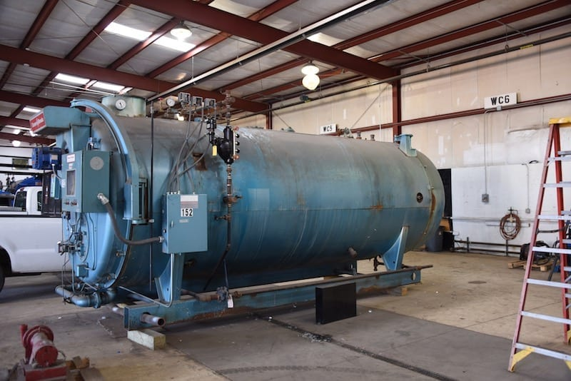 Cleaver Brooks 350 HP Steam Boiler 350 HP - 150 psig Steam Skid