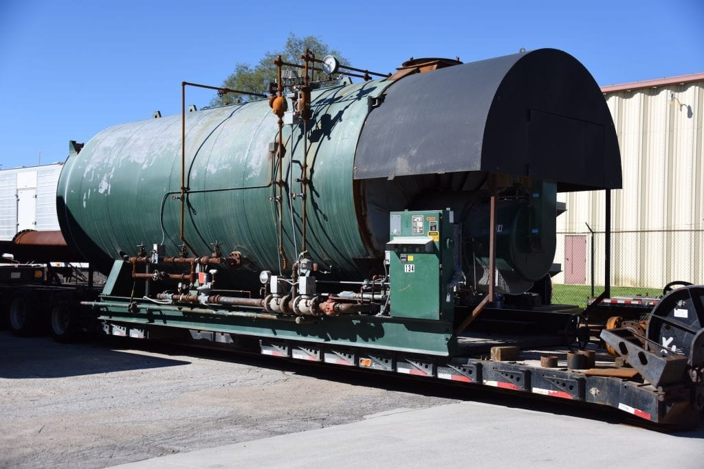1000hp Mobile Boiler Setup 150psig Mawp Steam