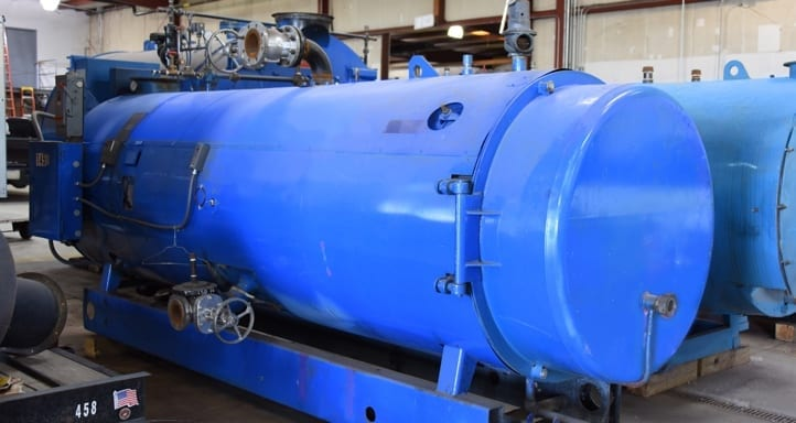 ABCO 15HP - 150 psig Steam Skid-Mounted Boiler | Rasmussen Mechanical