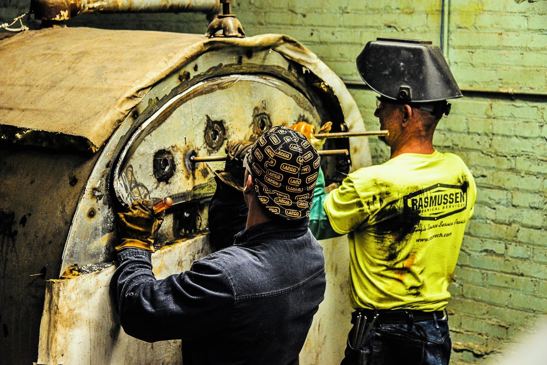 Everett Elementary School Boiler Repair   RasMech