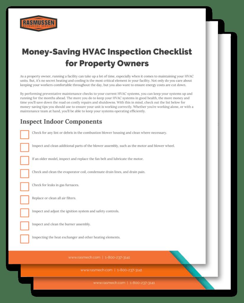 Spring Maintenance HVAC Checklist | Rasmussen Mechanical