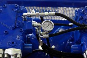 Compressed air system oil separator.