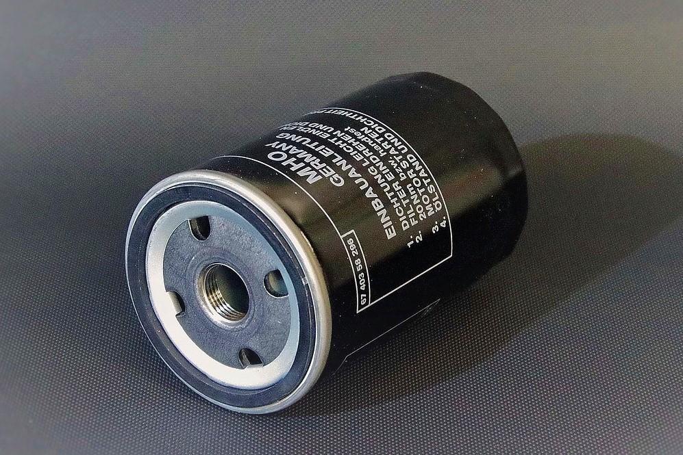Close Up Of An Oil Filter