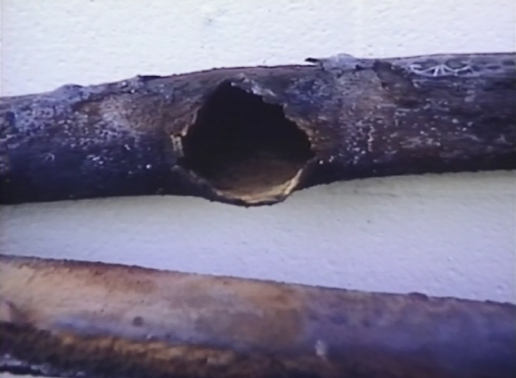 Boiler pipe burst caused by the insulating effects of scale