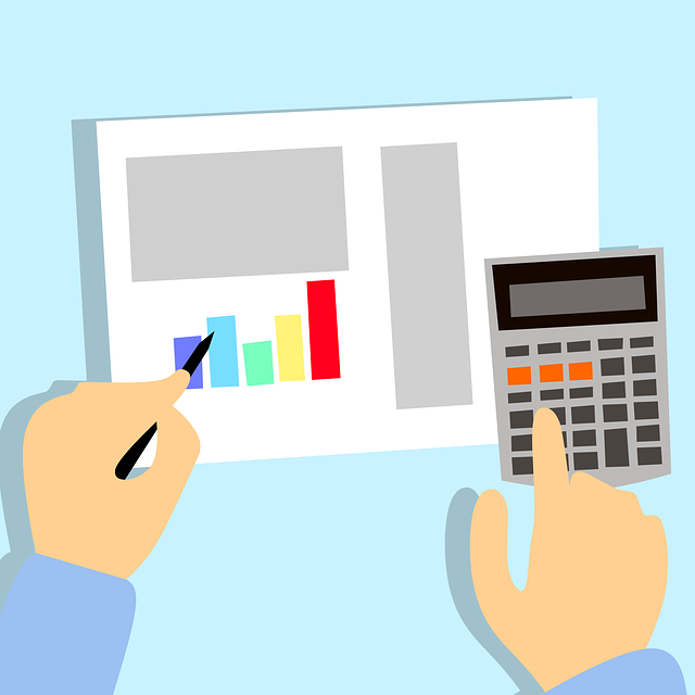 Benchmarking equipment and budgeting using a calculator and graph