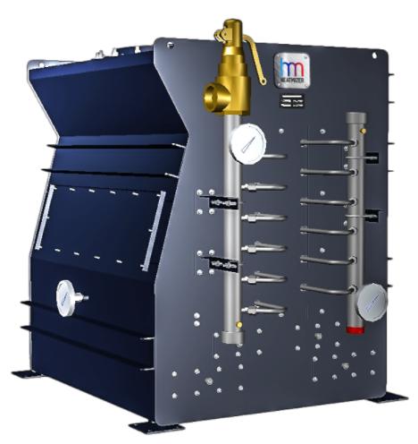 Heatmizer condensing economizer or flue gas heat recovery unit.