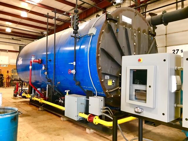 Hurst 600 HP Rental Boiler