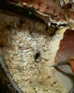 Refractory removal part 2